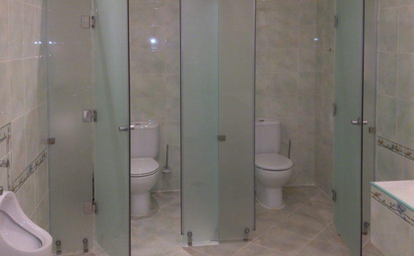 Туалетные кабинки – современный вид